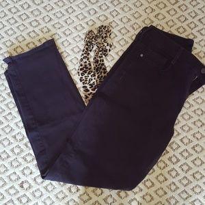 Bandolino purple Amy jeans, size 10